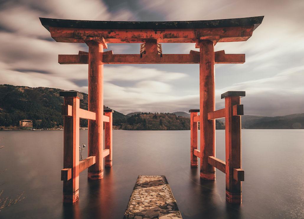Tempel-im-Wasser